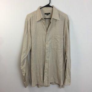 Ermenegildo Zegna Button Down Shirt Size Large